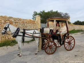 Balade en calèche à Rabat