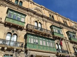 Architecture typique de La Valette