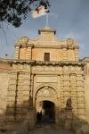 Entrée de la citadelle de Mdina