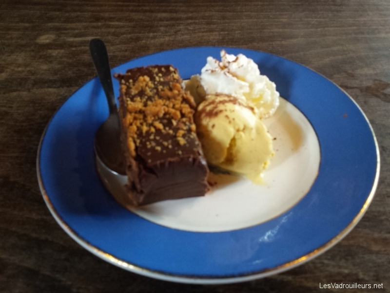 Terrine chocolat-spéculoos