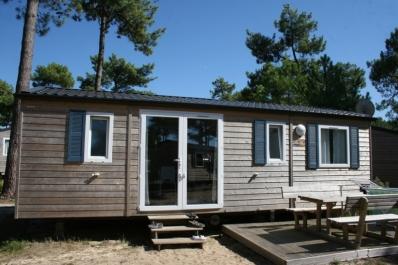 Mobilhome au camping ACM