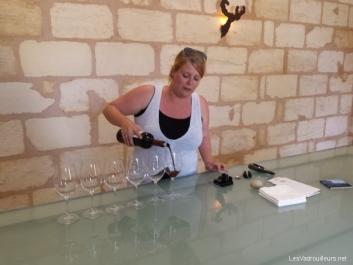 Dégustation au château Pontet-Canet