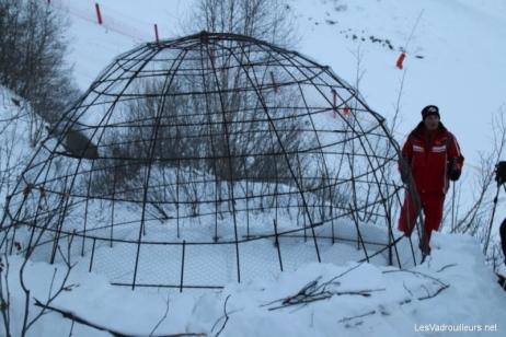 Des températures trop élevées pour l'igloo