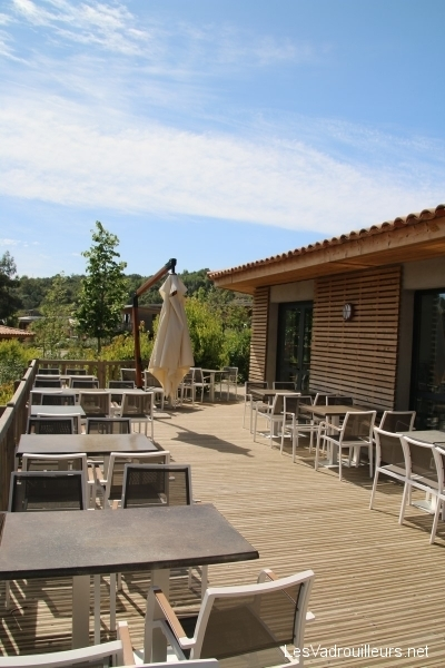La terrasse du bar/restaurant