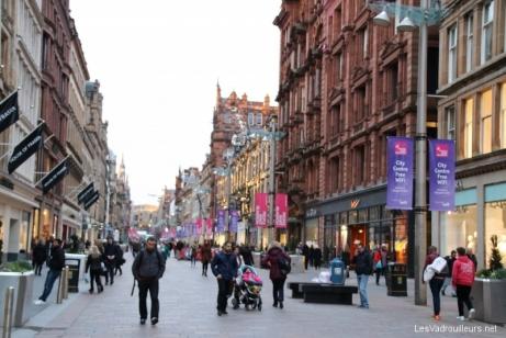 Rue Buchanan à Glasgow