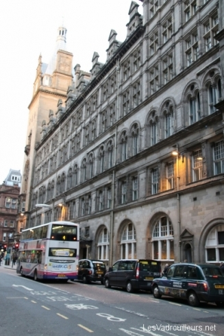 Une rue de Glasgow