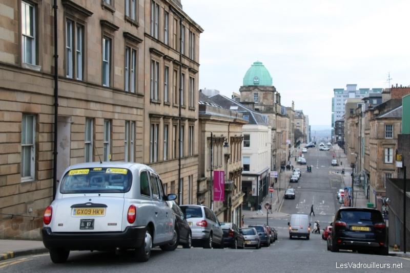 Rue de Glasgow en dénivelé