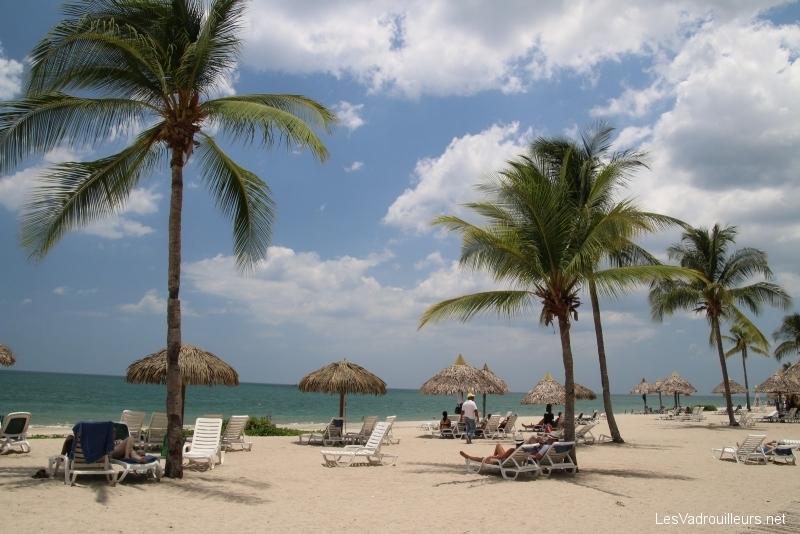 La plage du Club Lookea