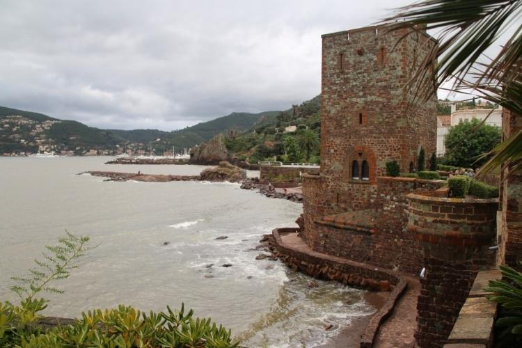 Le château côté mer