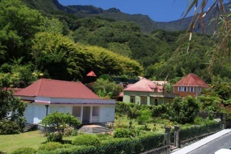 Petit village de la Réunion