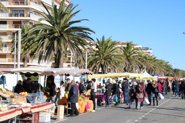 Marché sur la Côte d'Azur