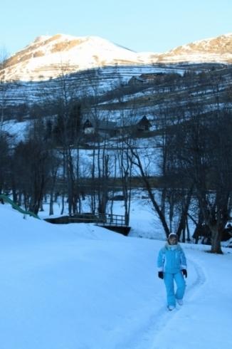 Balade d'hiver à la montagne