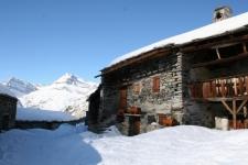 Météo d'hiver à la montagne