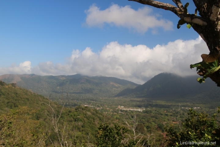 Panorama sur vallée d'Anton
