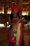 Présentation de l'artisanat fait par les femmes