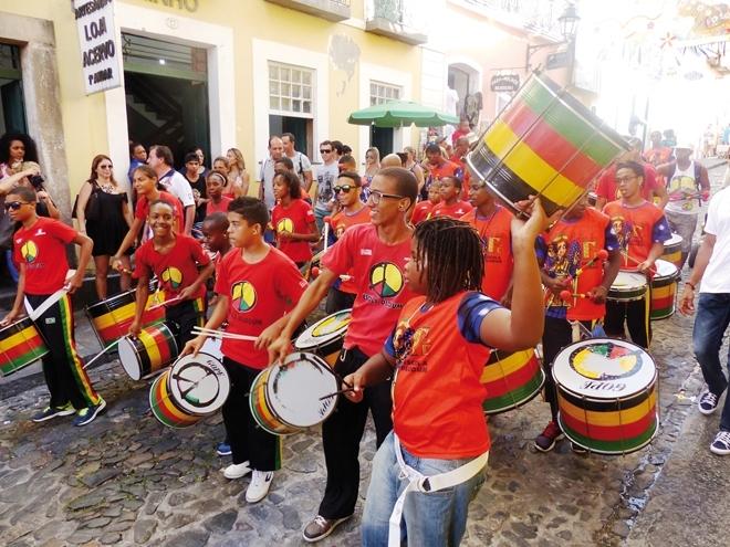 Carnaval à Salvador de Bahia
