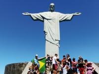 Le Christ rédemtpeur au Corcovado à Rio