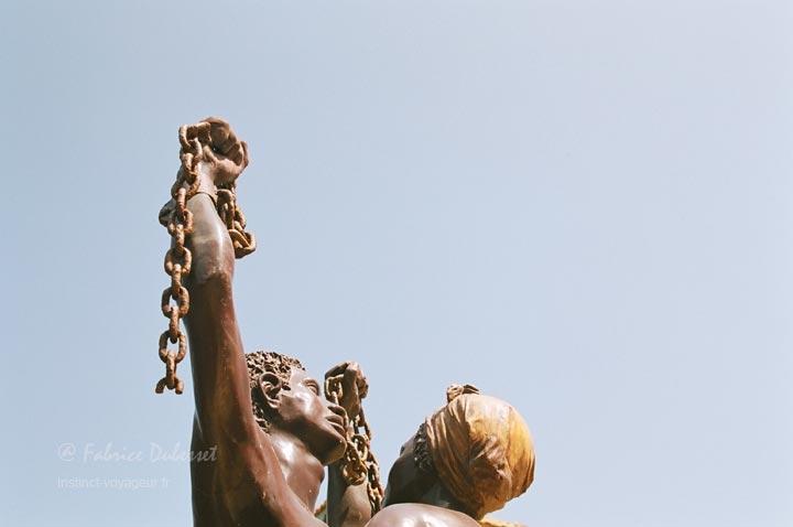 L'île de Gorée, en face de Dakar, d'où sont partis des milliers d'esclaves