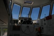 Poste de pilotage intérieur