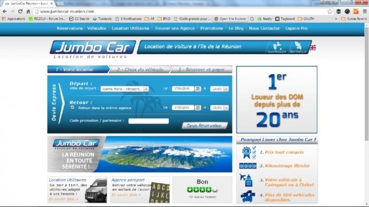 Recherche sur site Jumbo Car