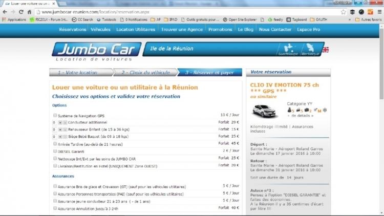 Détails de la Clio 4 chez Jumbo Car