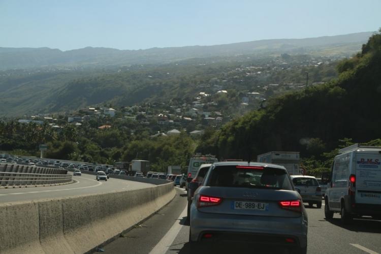 Bouchons à la Réunion