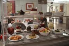Chariot de desserts