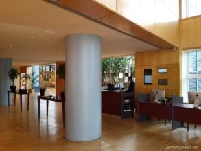 Hall de l'hôtel Hyatt