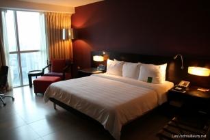 Notre chambre au Hardrock Hôtel