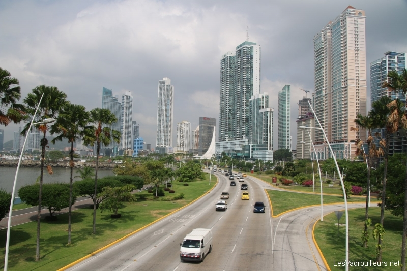 how to get to panama city