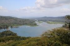 Vue sur le lac Gatun