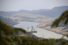 Vue sur le canal du Panama