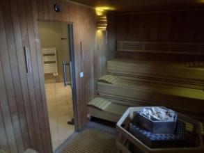 Le sauna au SPA
