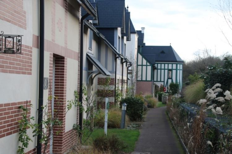 Des maisons de la résidence
