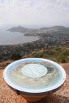Randonnée au Rastel d'Agay - Table panoramique