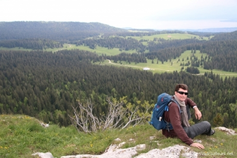 Vue panoramique depuis le Mont Sala