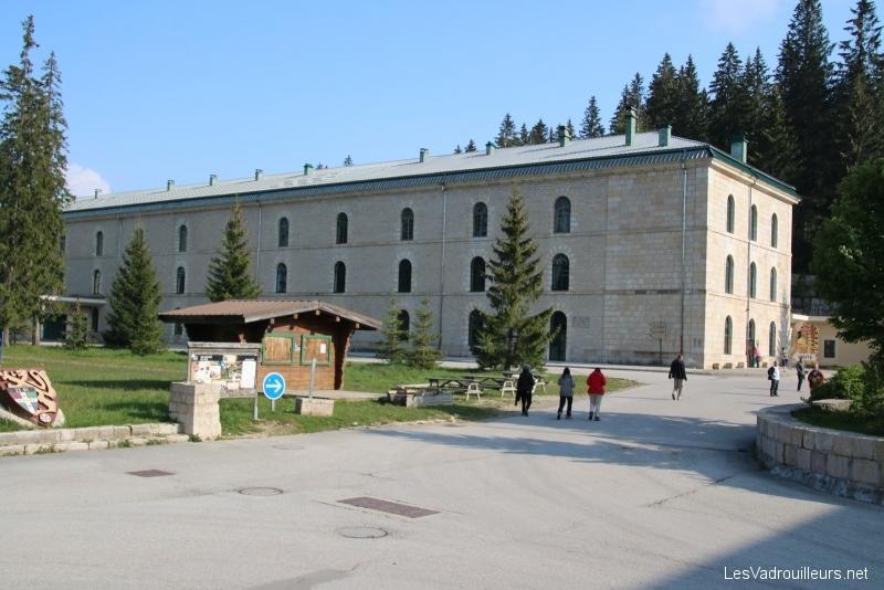 Visite du Fort des Rousses