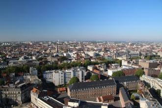 Vue panoramique depuis le beffroi