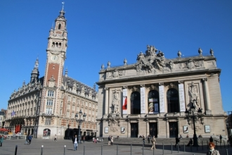 Beffroi et Opéra de Lille
