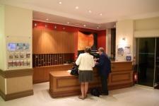 L'accueil de l'hôtel
