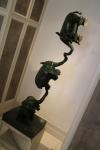 Statue exposée dans l'hôtel