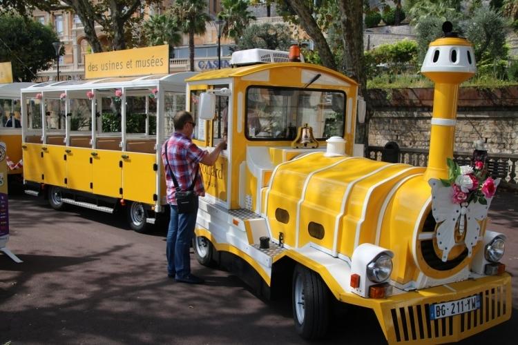 Petit train touristique de Grasse