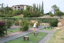 Mini-golf végétal Cap Esterel
