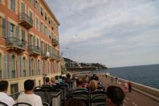 Balade commentée en visiobus Nice