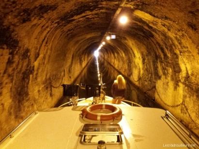 Traversée du tunnel  de Saint Aubin