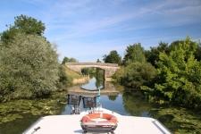Navigation sur le canal du Rhône au Rhin