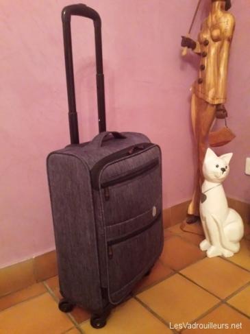 La valise cabine Lys remplie
