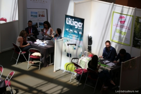 Speed Dating dans les stands exposants