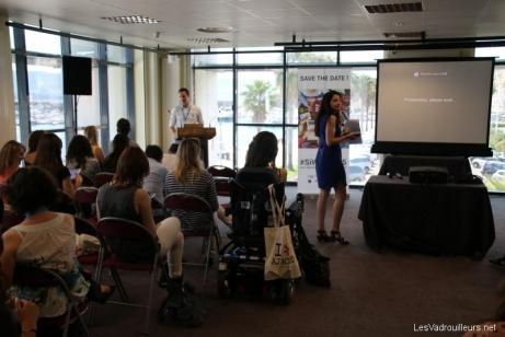 Conférence de Corinne Stopelli