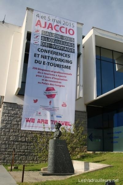 Le Palais des Congrès d'Ajaccio
